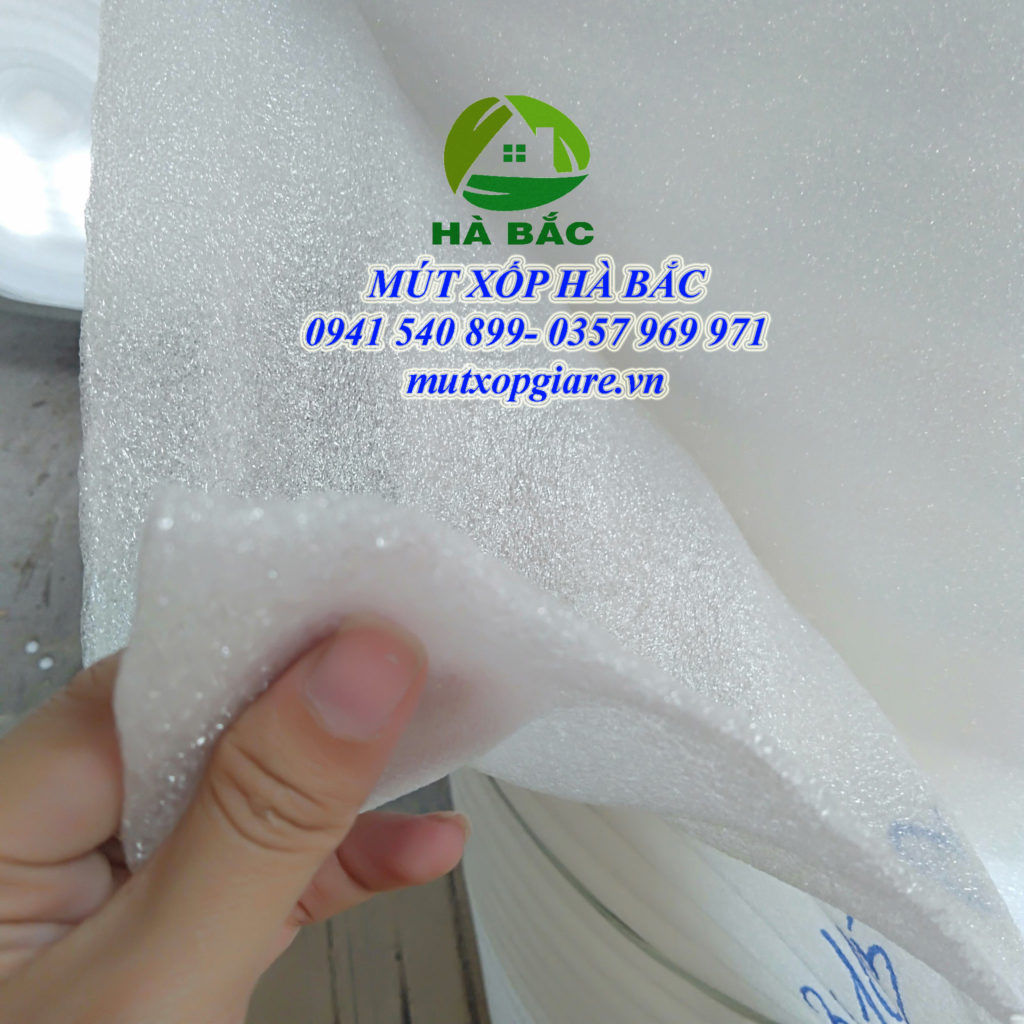 Mút xốp lót trái cây có tính năng, mềm, dẻo và dai, chống bầm dập, chống thấm tốt.