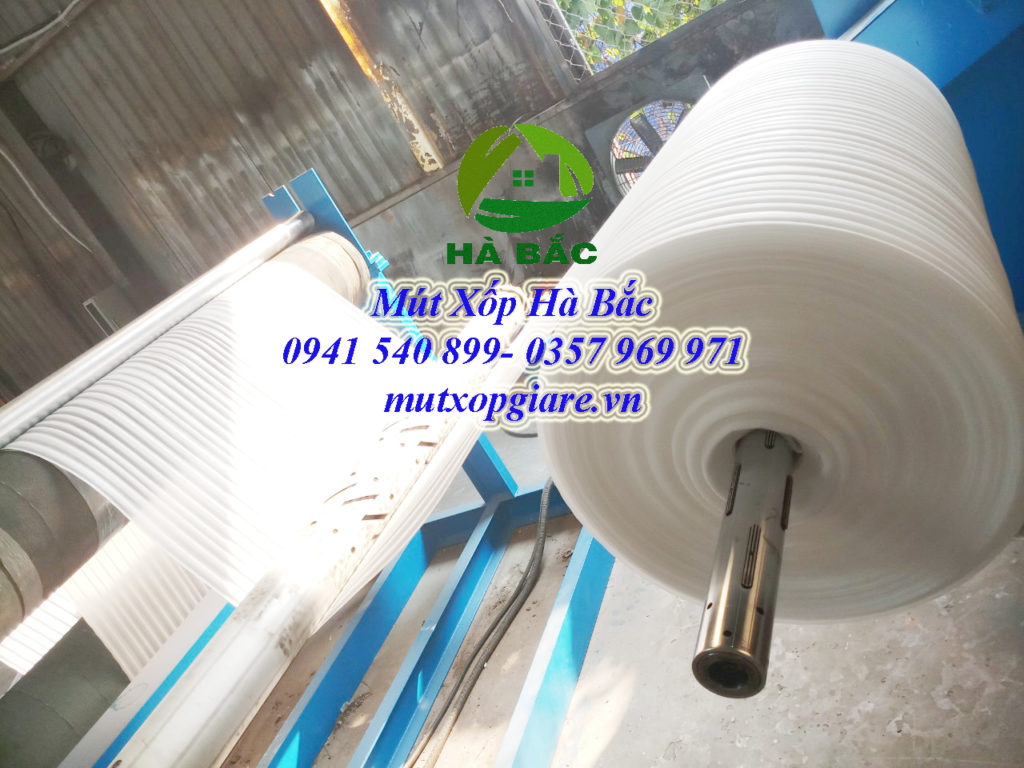 Sản xuất mút xốp Hà Bắc