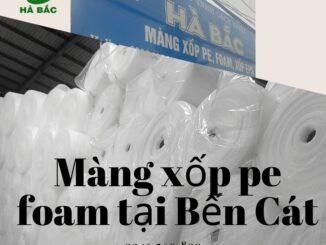địa chỉ bán màng xốp pe foam giá rẻ tại bến cát